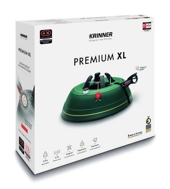 Julgransfot Krinner Premium XL, Ø39 cm, Flera färger