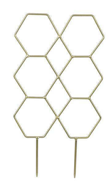 Krukspaljé, Höjd 40 cm, Guld