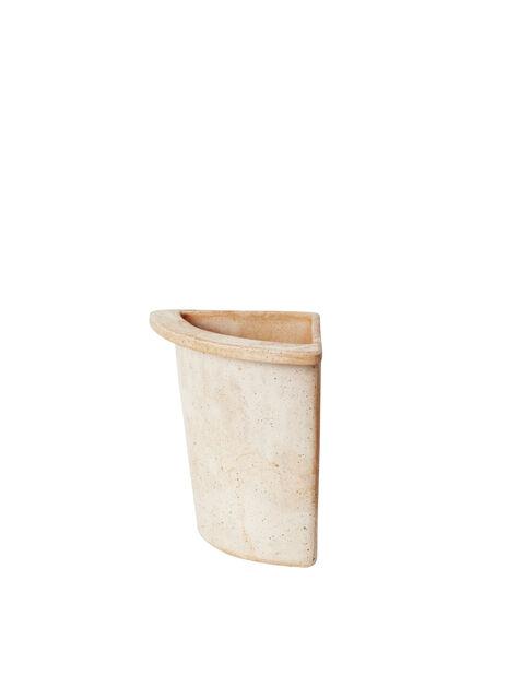 Olea kvartskruka 19 cm beige