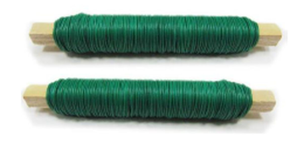 Blomtråd, 2-pack, Grön