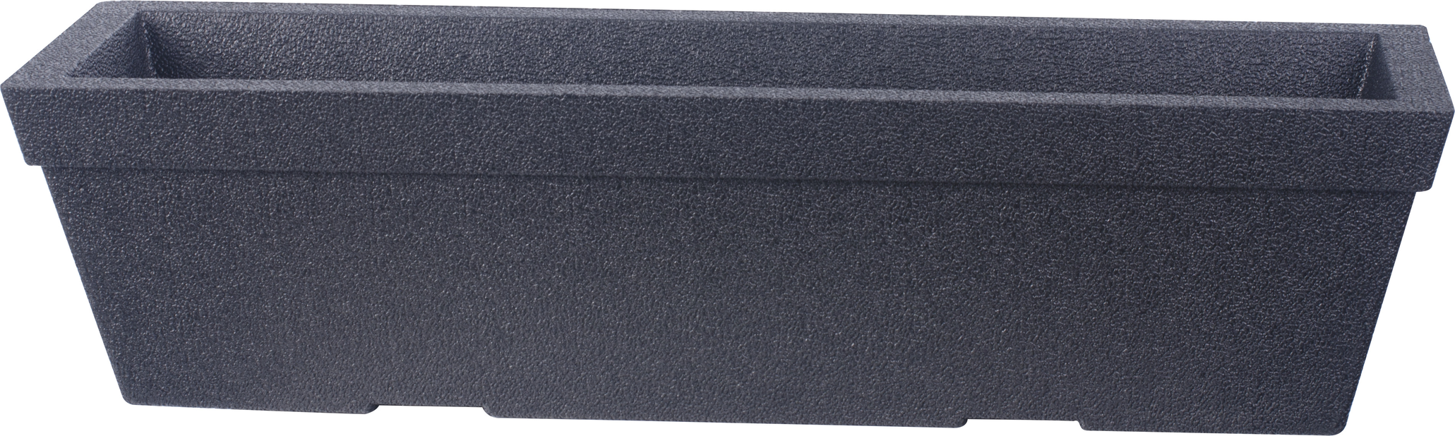 Balkonglåda Milla 76 cm svart