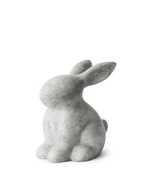 Cementkanin, Höjd 20 cm, Grå