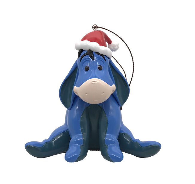 Julpynt Disney Ior, Höjd 8.5 cm, Blå