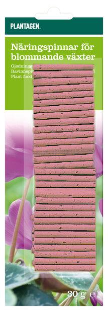 Näringspinnar Blommande, 30-pack, Röd