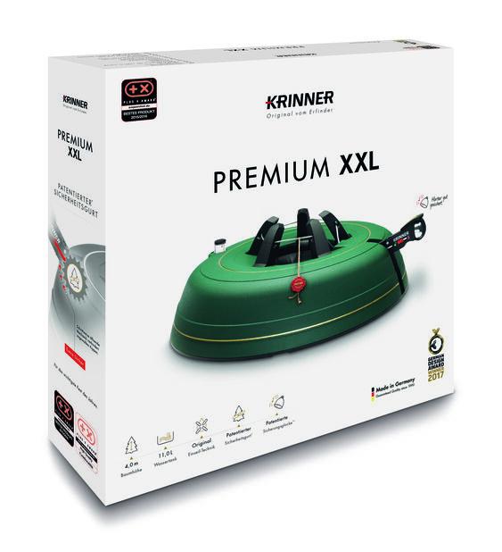 Julgransfot Krinner Premium XXL, Grön