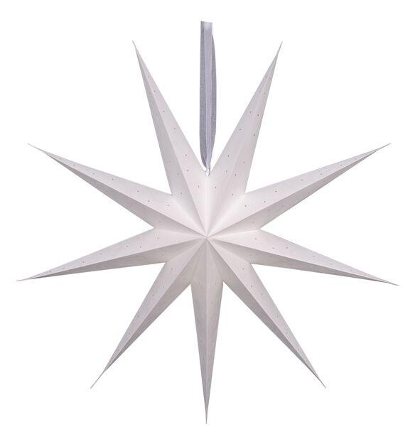 Julstjärna Wilma , Längd 100 cm, Vit