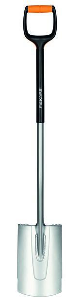 Kant- och planteringsspade Xact Fiskars , Längd 120 cm, Grå