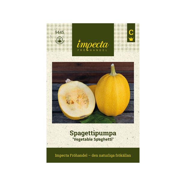 Spagettipumpa 'Vegetable Spaghetti', Gul