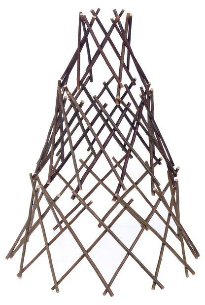Växtstöd pil, Höjd 90 cm, Brun