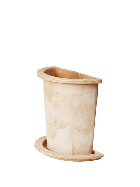 Halvkruka Olea, Höjd 35 cm, Terrakotta