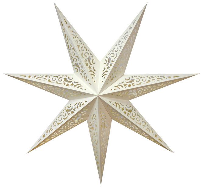 Julstjärna Lina, Längd 75 cm, Vit