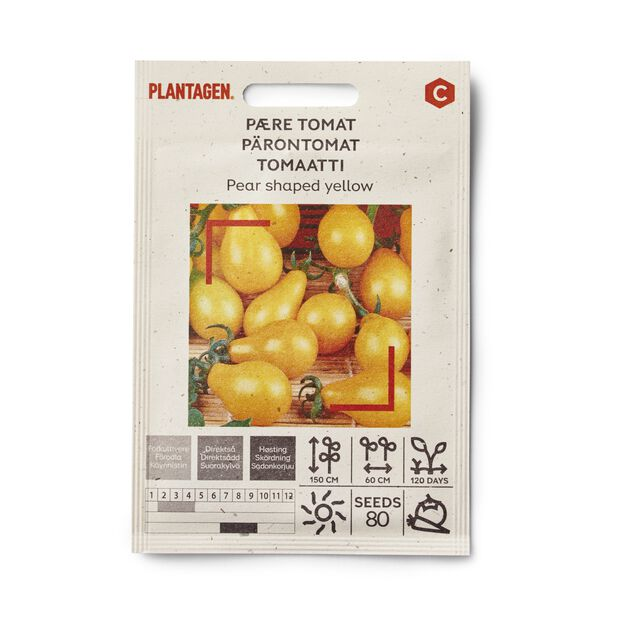 Pärontomat 'Pear shaped yellow'