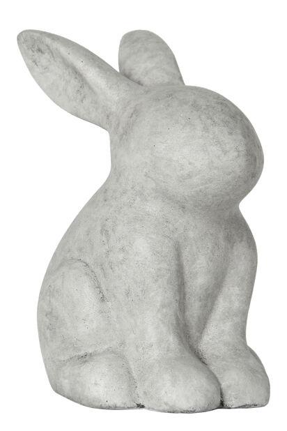 Cementkanin, Höjd 30 cm, Grå