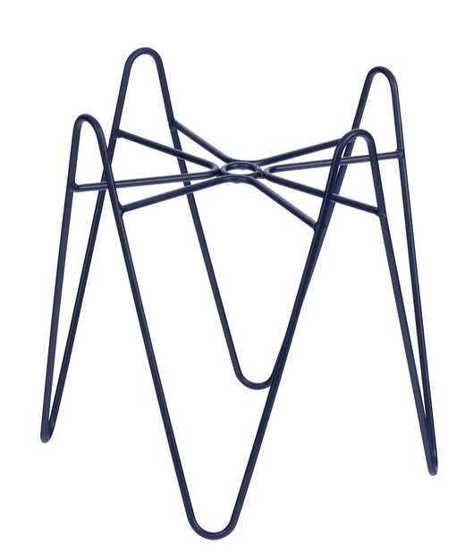 Piedestal Wilmer, Ø19 cm, Svart