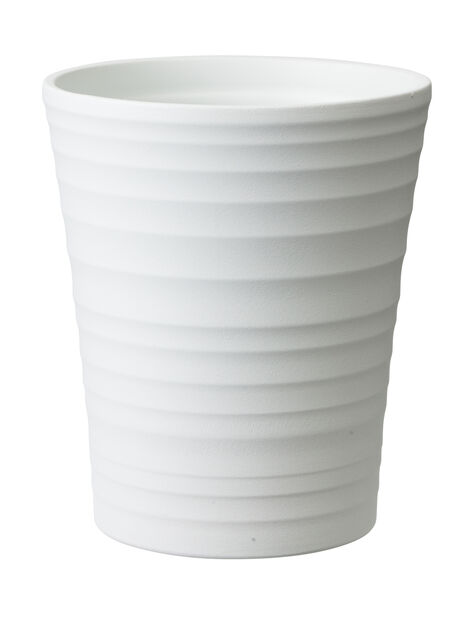 Kruka Nellie, Ø13 cm, Vit