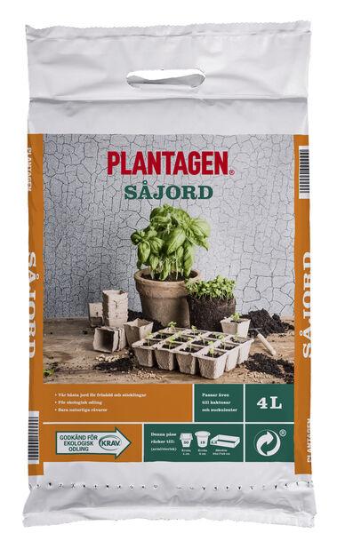 Kaktus & Såjord KRAV, 4 L