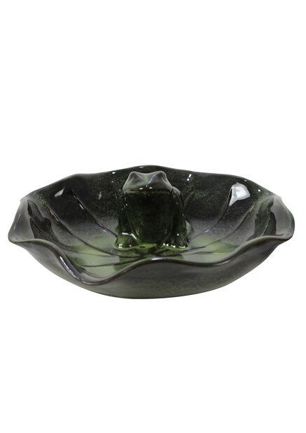 Fågelbad, Ø30 cm, Grön