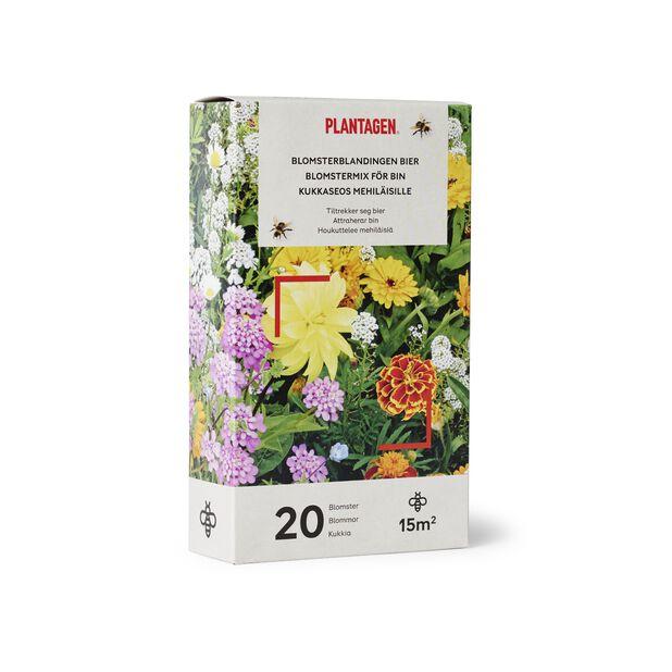 Blomsterblandning för bin, 15 kvm, Flerfärgad
