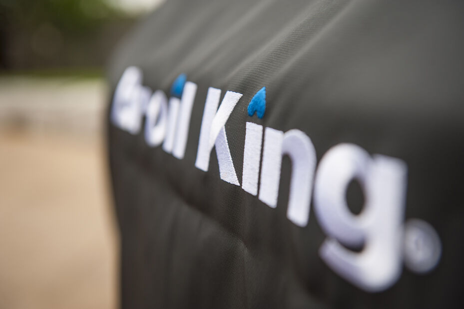 Grillöverdrag premium Broil King Crown 400, Svart