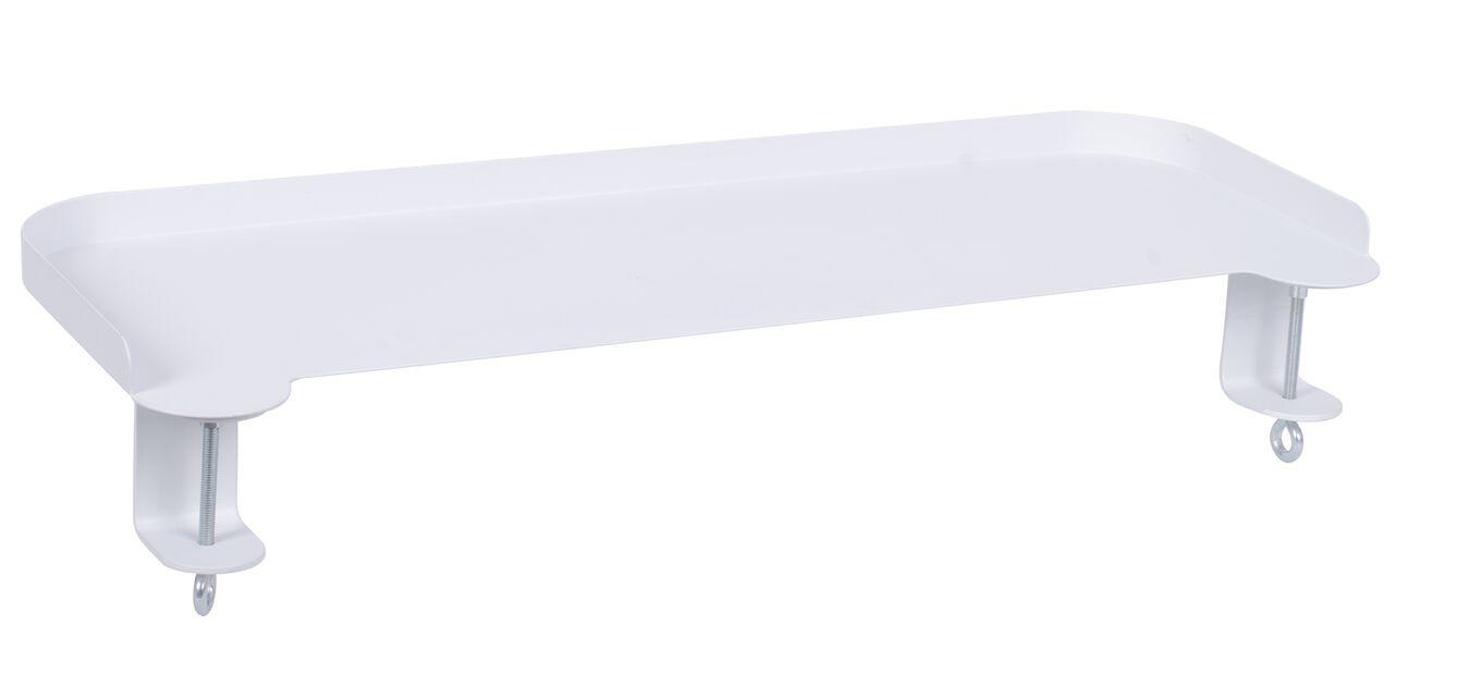 Fästbar bricka Dalia, Längd 55 cm, Vit