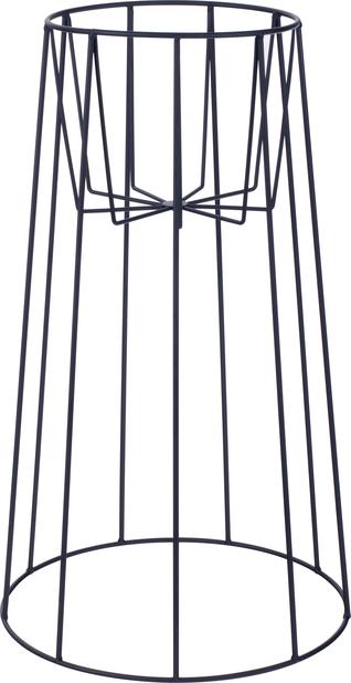Piedestal Danny, Höjd 55 cm, Svart