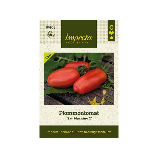 Plommontomat 'San Marzano 2', Röd