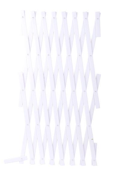 Spaljé plast, Höjd 180 cm, Vit