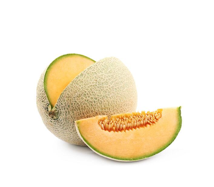 Melon 'Cantaloupe', Ø10.5 cm, Orange