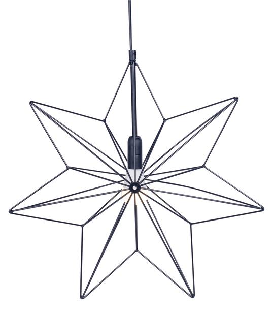 Metallstjärna Vibeke, Svart