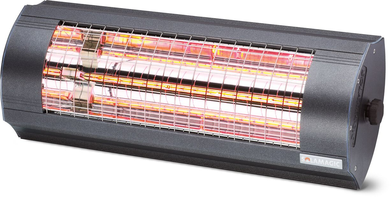 Värmelampa ECO+ PRO 2000 Solamagic, Längd 44 cm, Grå