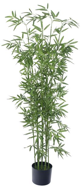 Bambu konstgjord , Höjd 150 cm, Grön