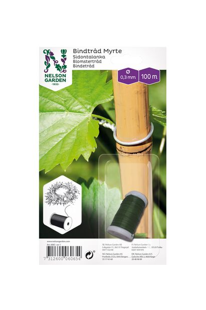 Bindtråd Myrte, Grön